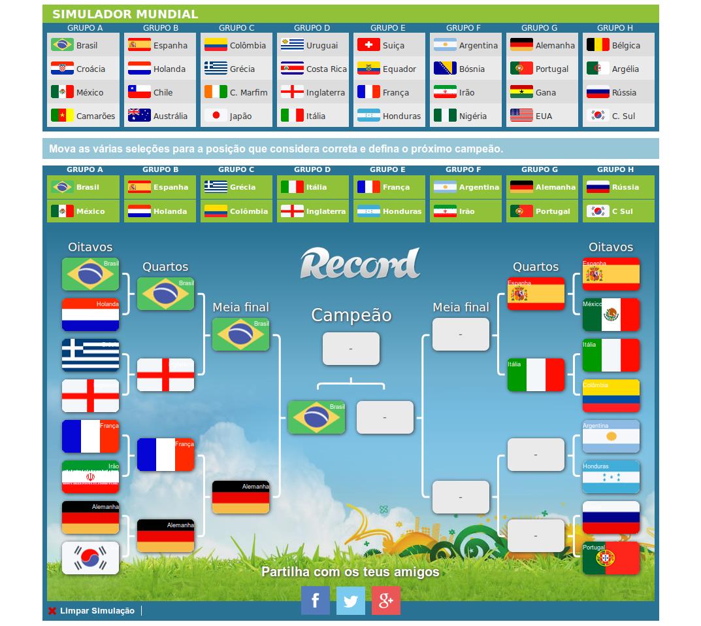 Simulador Mundial