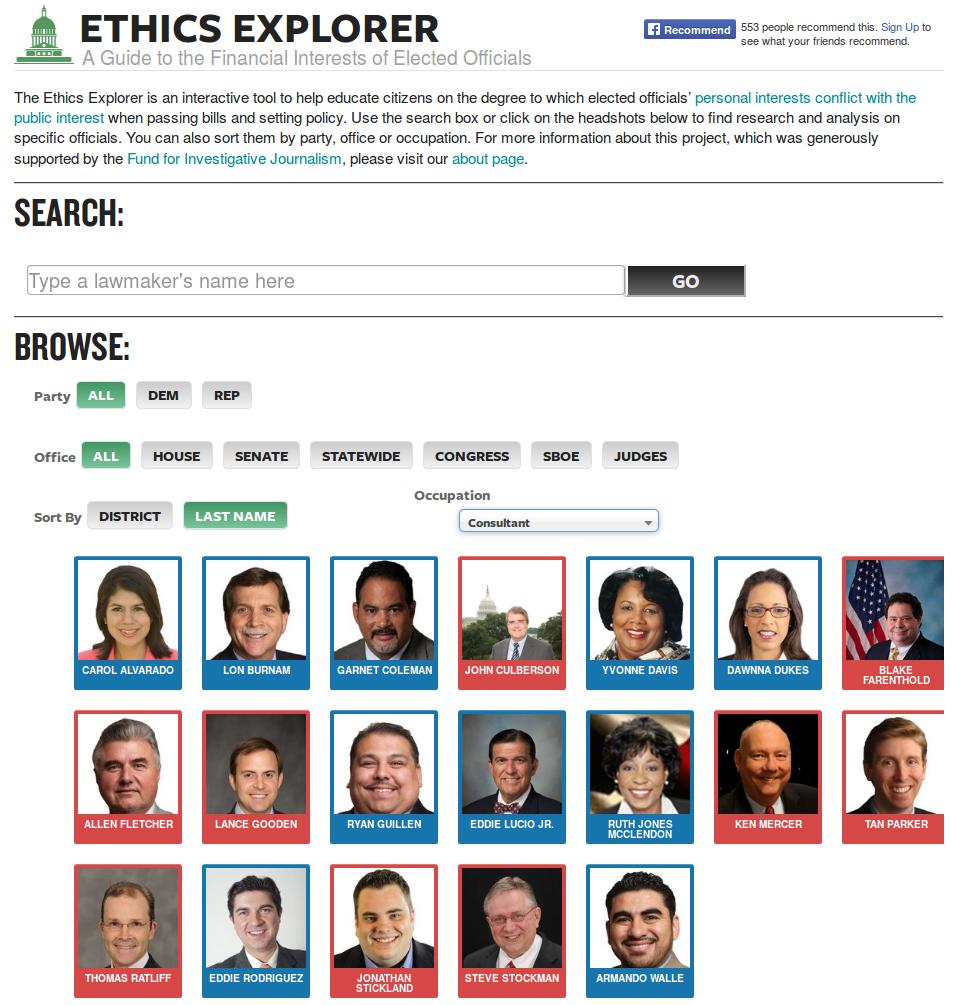 Ethics Explorer