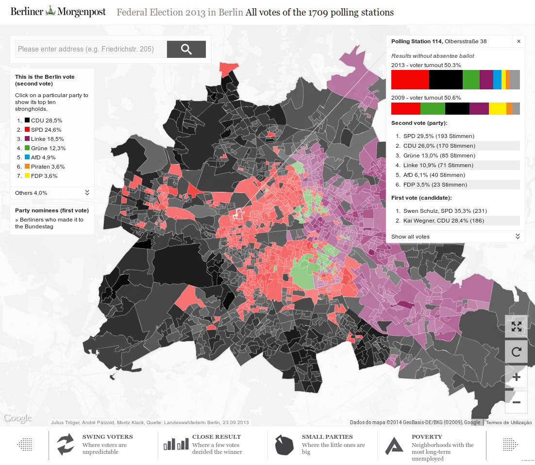 Federal Election 2013 in Berlin