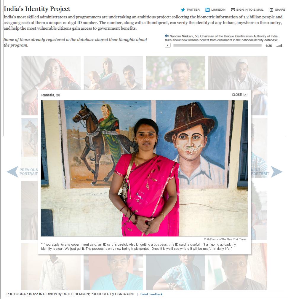 India's Identity Project