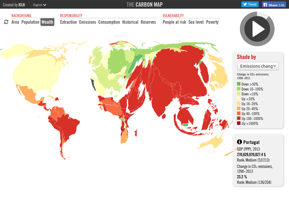 The Carbon Map